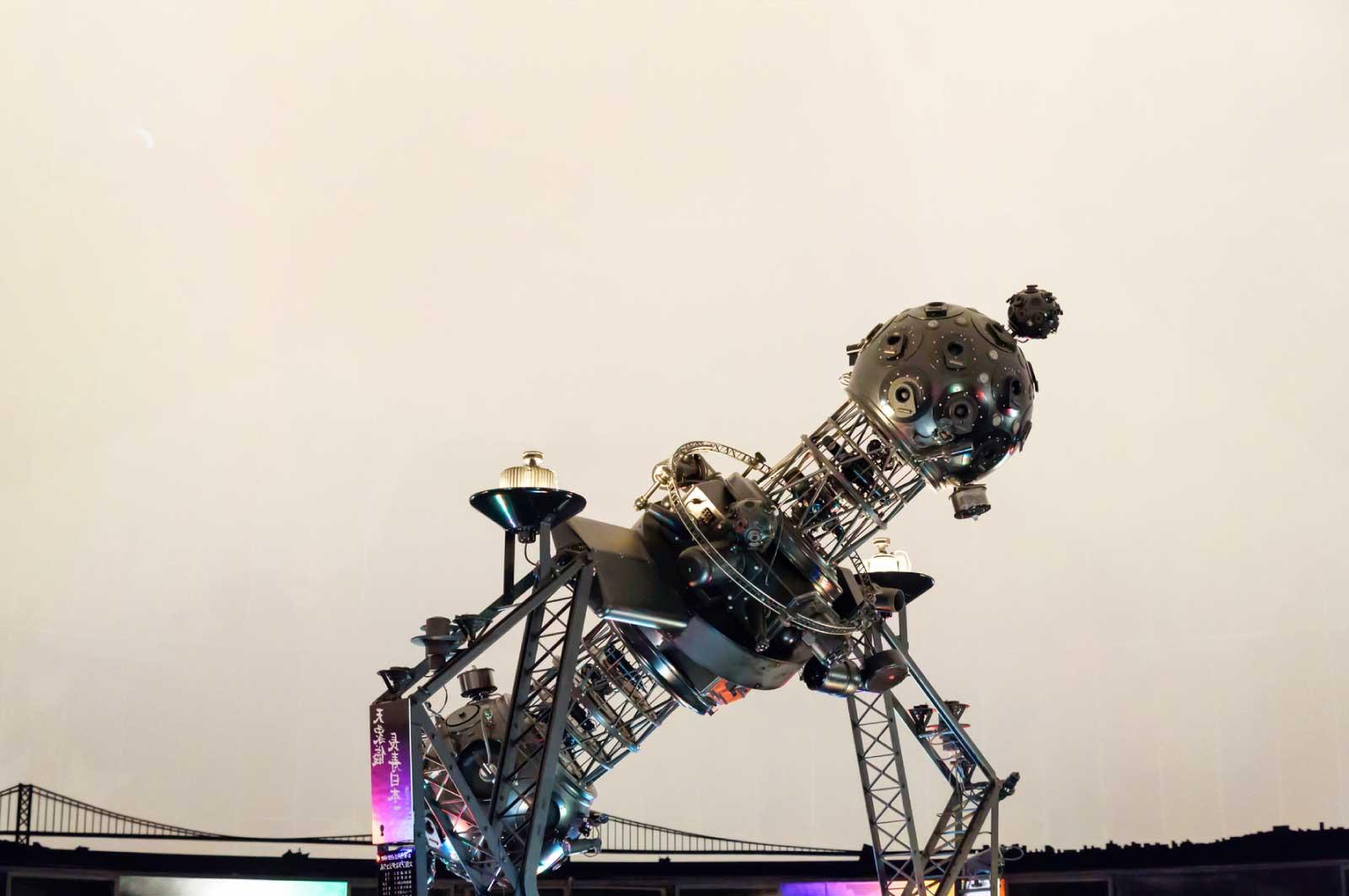 明石市立天文科学館のプラネタリウム