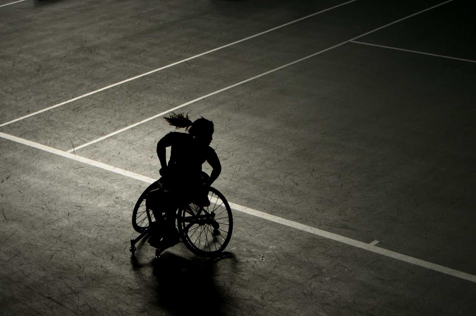 車椅子テニス(パラスポーツ)