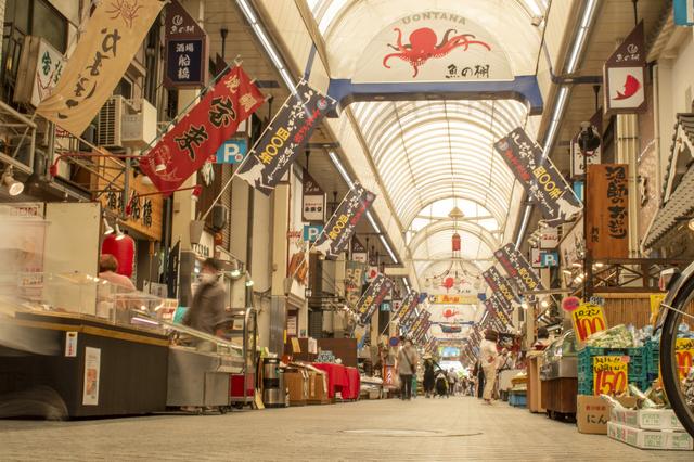 魚の棚商店街(明石)