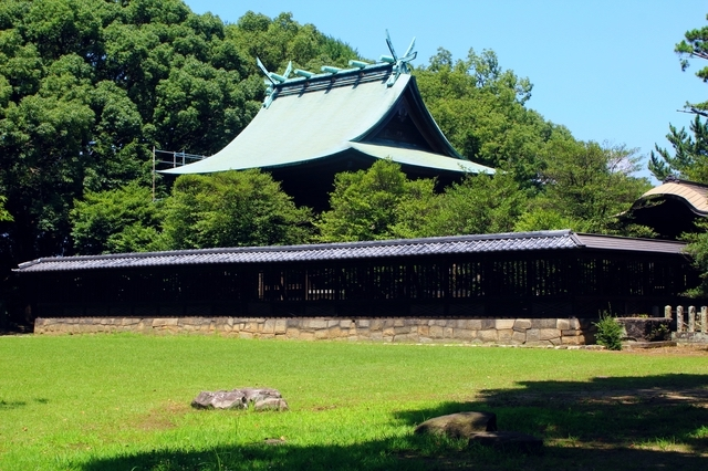 篠山神社(久留米城跡)