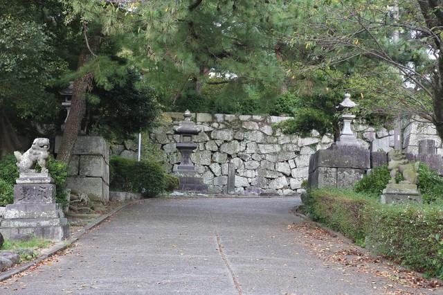整備された久留米城跡