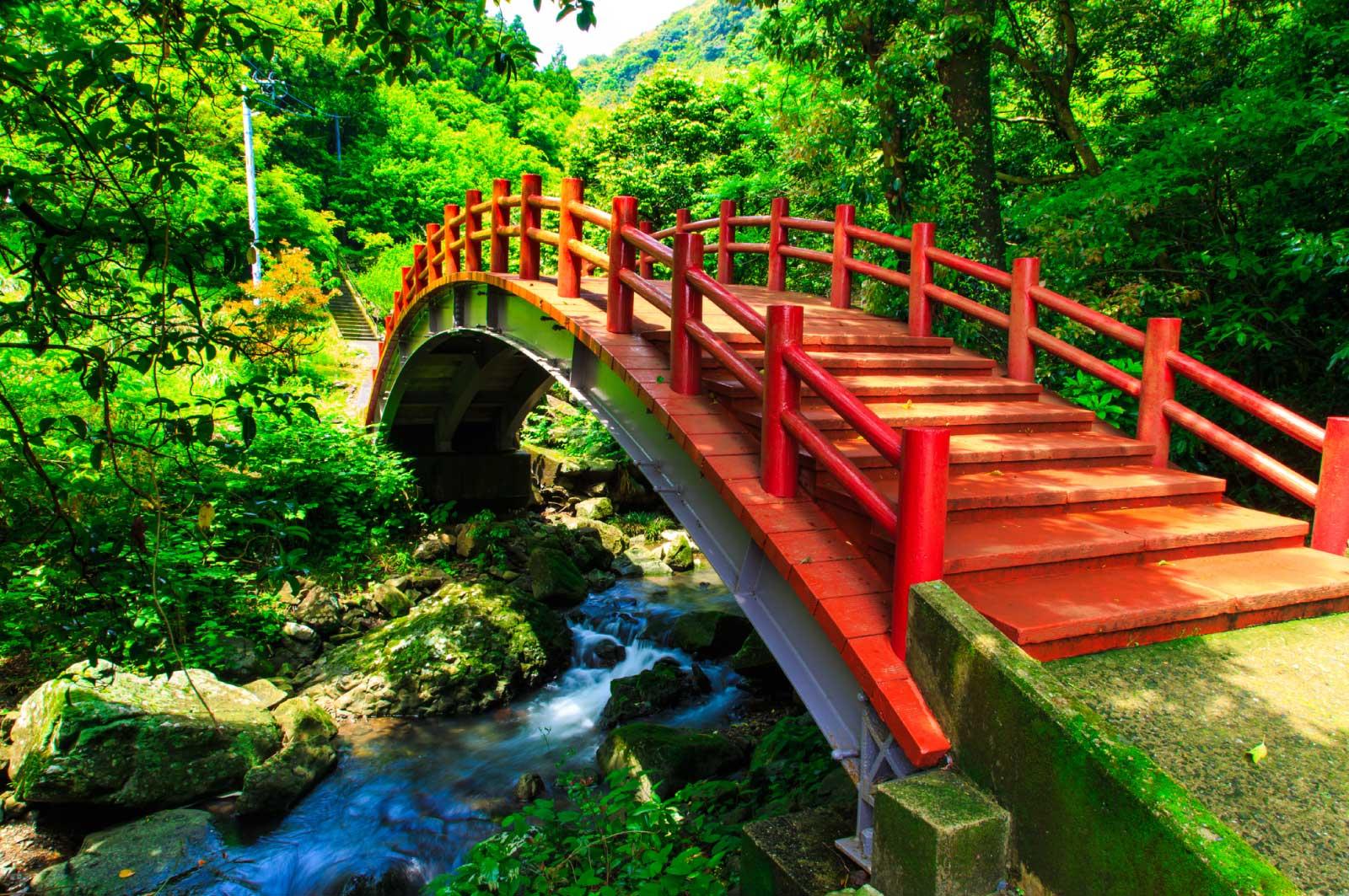 潜竜ヶ滝公園の橋