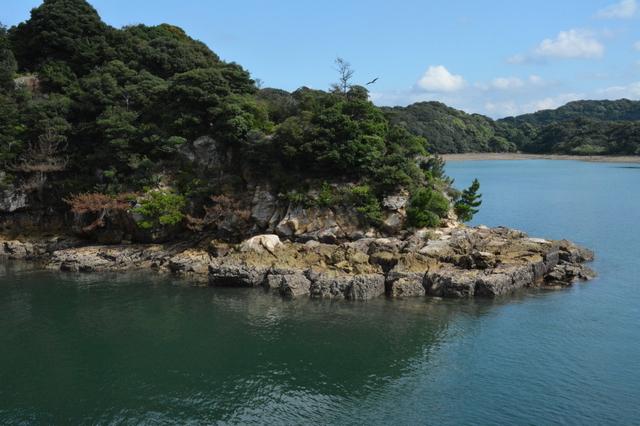 九十九島の無人島