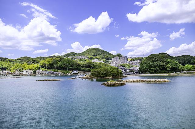 観光船からの景色(九十九島)