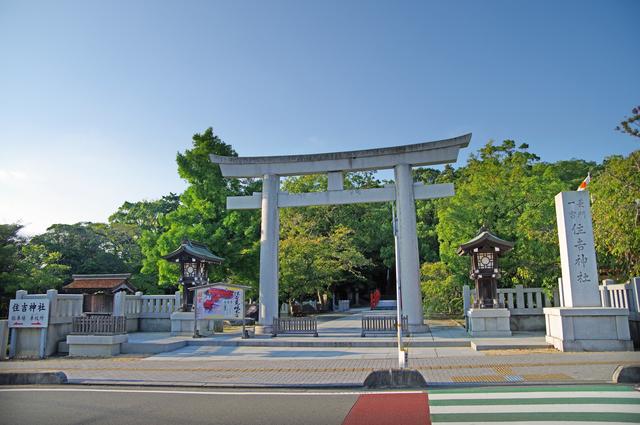 住吉神社の大鳥居
