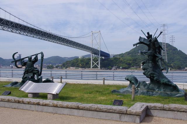 壇ノ浦の戦い(みもすそ川公園)