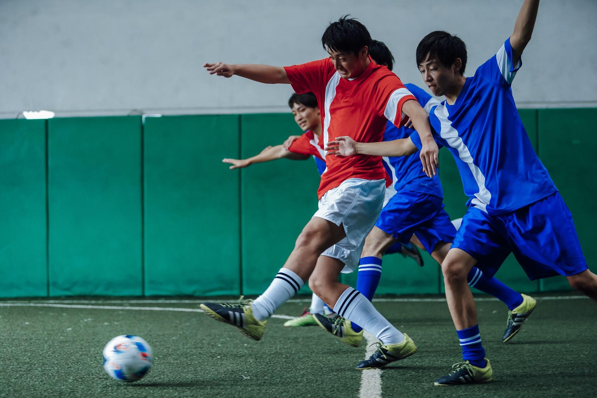大人になってからサッカーにハマりだした
