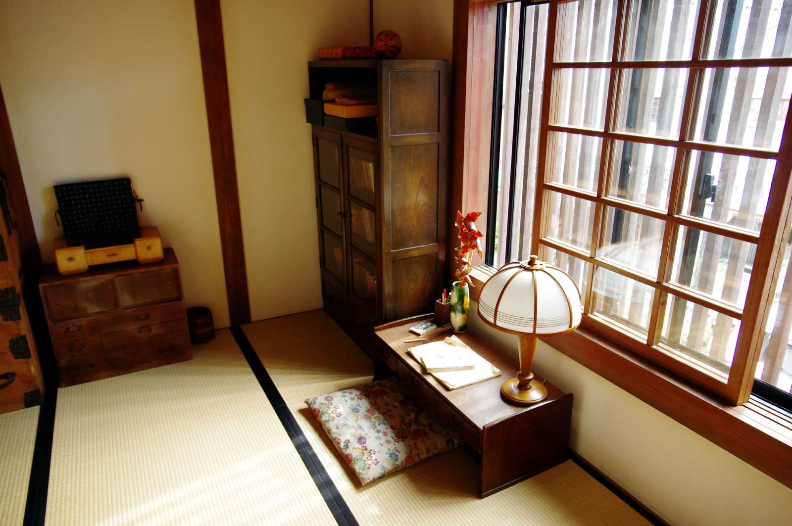 昭和を感じる書斎