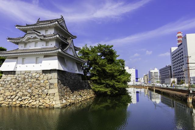 快晴の高松城