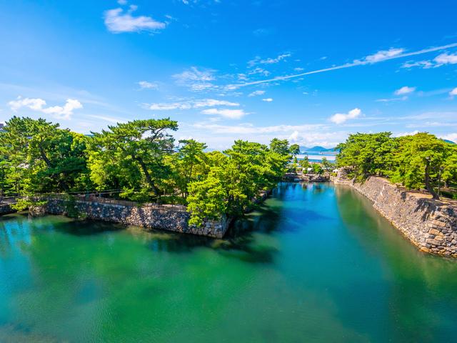 高松城は海城