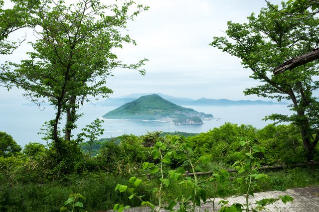緑豊かな女木島