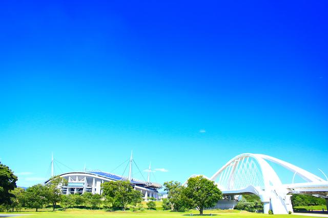 豊田スタジアム周辺の景色