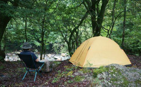 1人でキャンプ