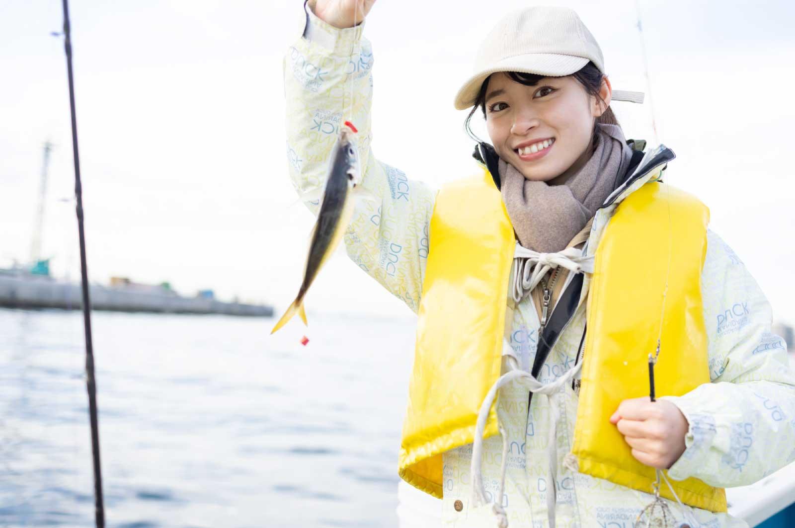 千葉で彼女と釣りデート