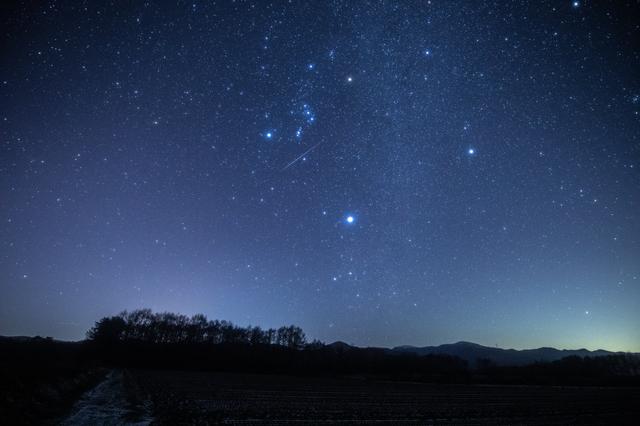 普段見上げている星の光