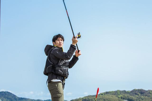 釣りをしている時は…無心になれる