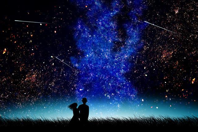 四季に応じて見える星が変化していく