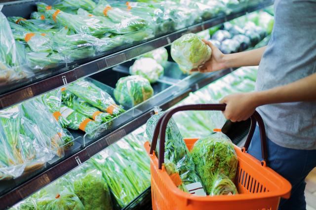僕は普段スーパーで買い物をする