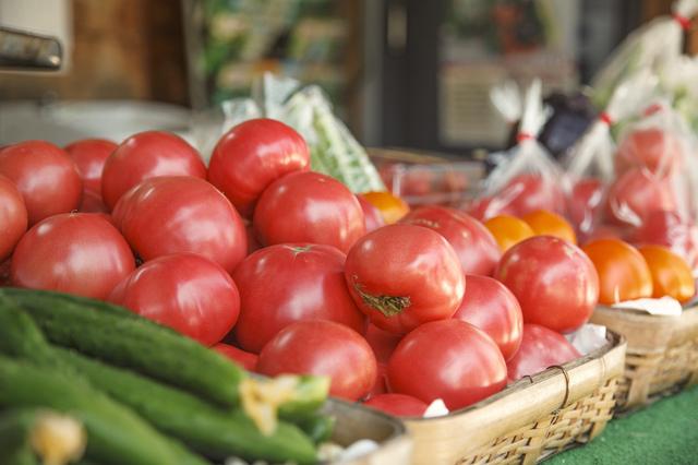 直売所や道の駅といった場所での野菜販売