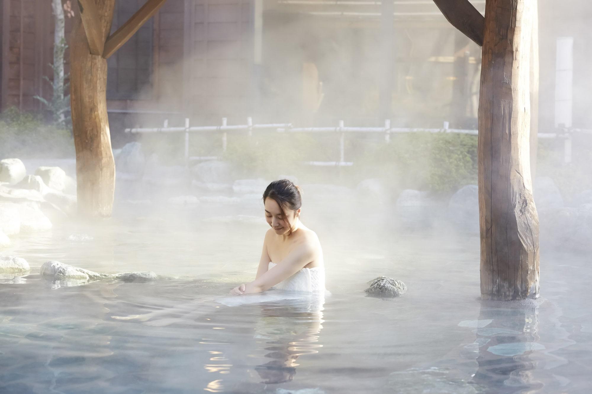 最近はまっているのが、温泉