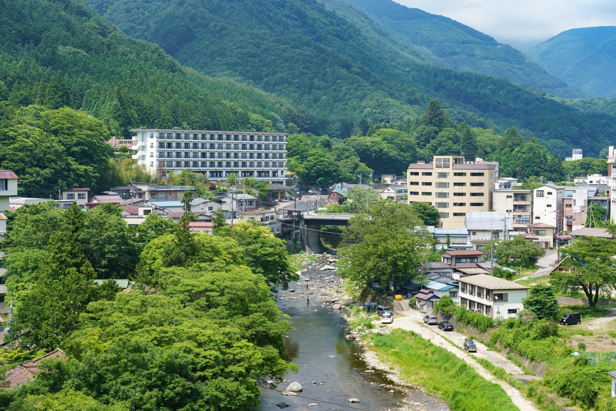 北関東くらいの温泉
