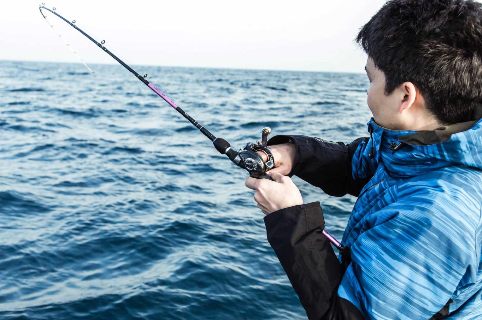 趣味は釣り