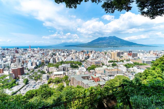 桜島(城山展望所)