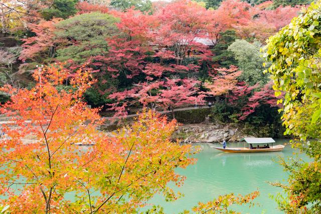 京都の定番観光地である嵐山