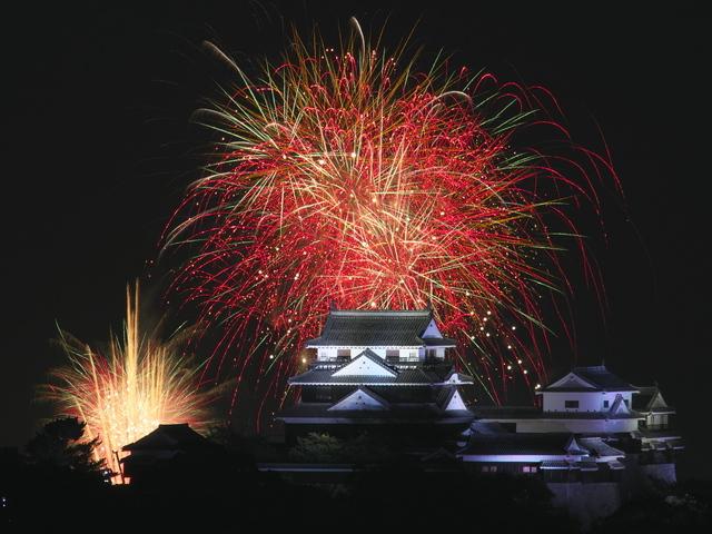 松山港まつり 三津浜花火大会