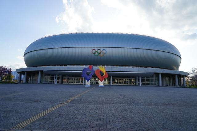 ホワイトリング(長野市真島総合スポーツアリーナ)