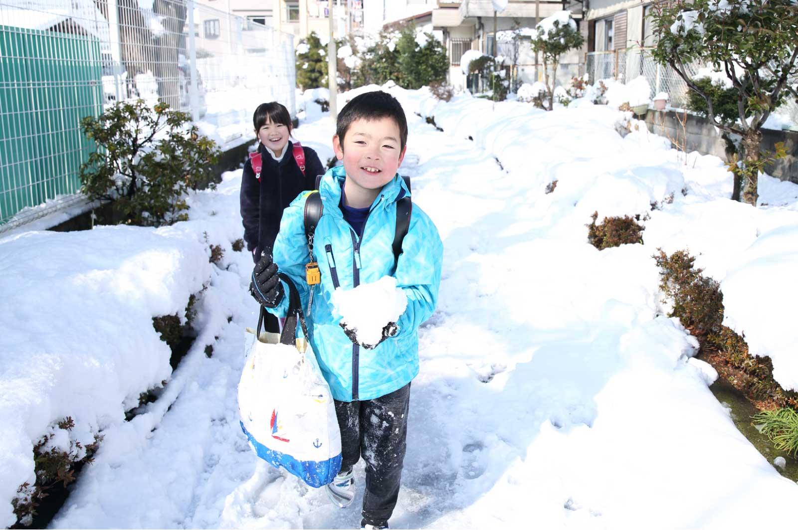 長野の小学生