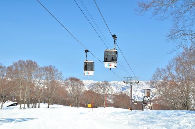 老舗の野沢温泉スキー場