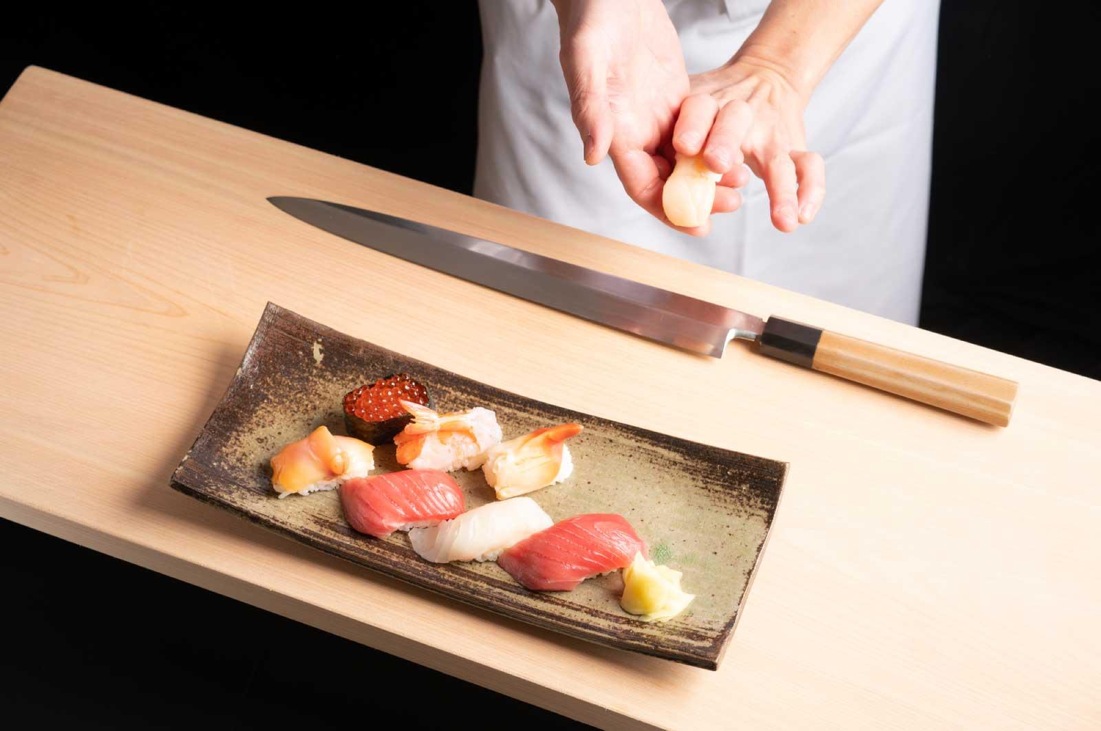 新潟自慢の魚を使った寿司