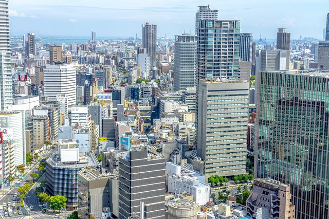 目的地は大阪