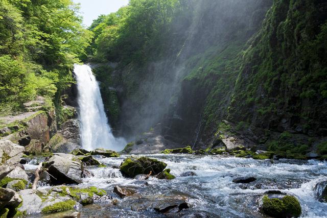 秋保大滝は「日本の滝百選」に選ばれた