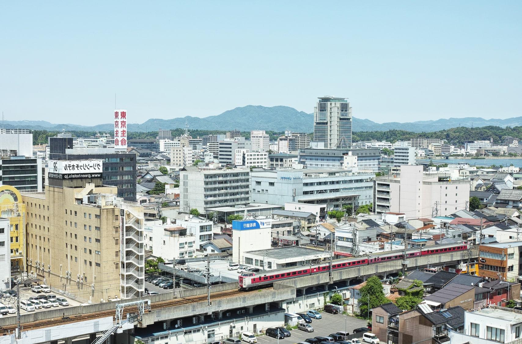 松江駅周辺