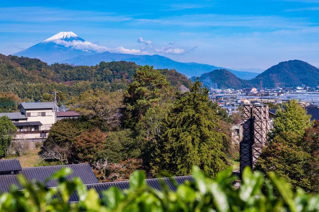 富士山と韮山反射炉
