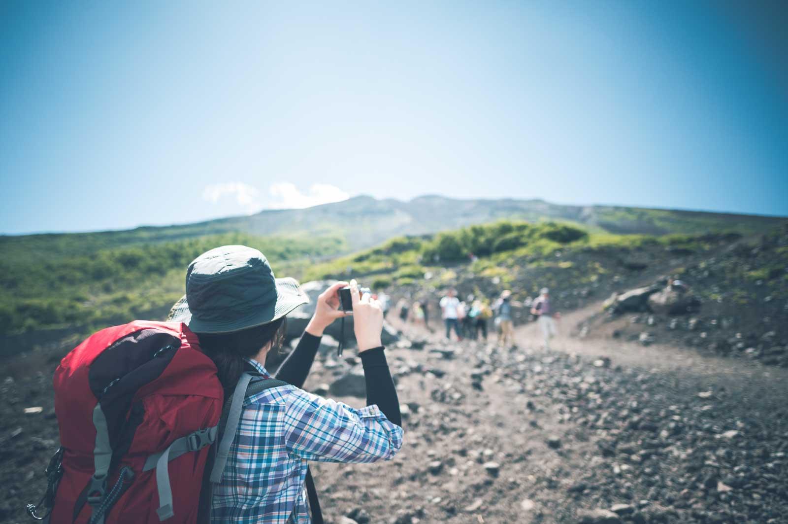 富士山に行ってきました