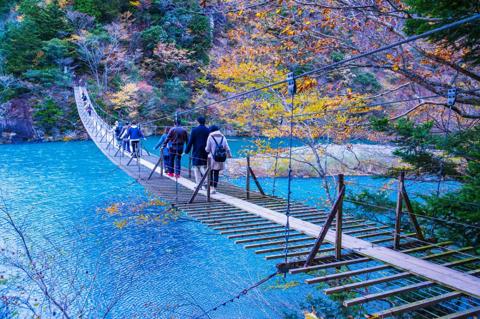 静岡でも有名な「寸又峡」