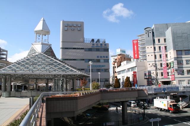 豊中駅前ロータリー