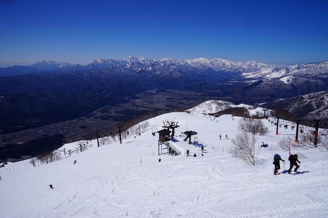 富山に来たんだからスキー滑っていきな