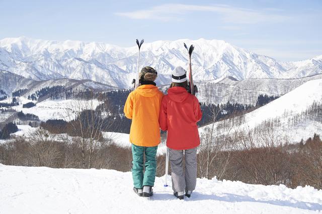 僕の実家からそう遠くない場所にスキー場