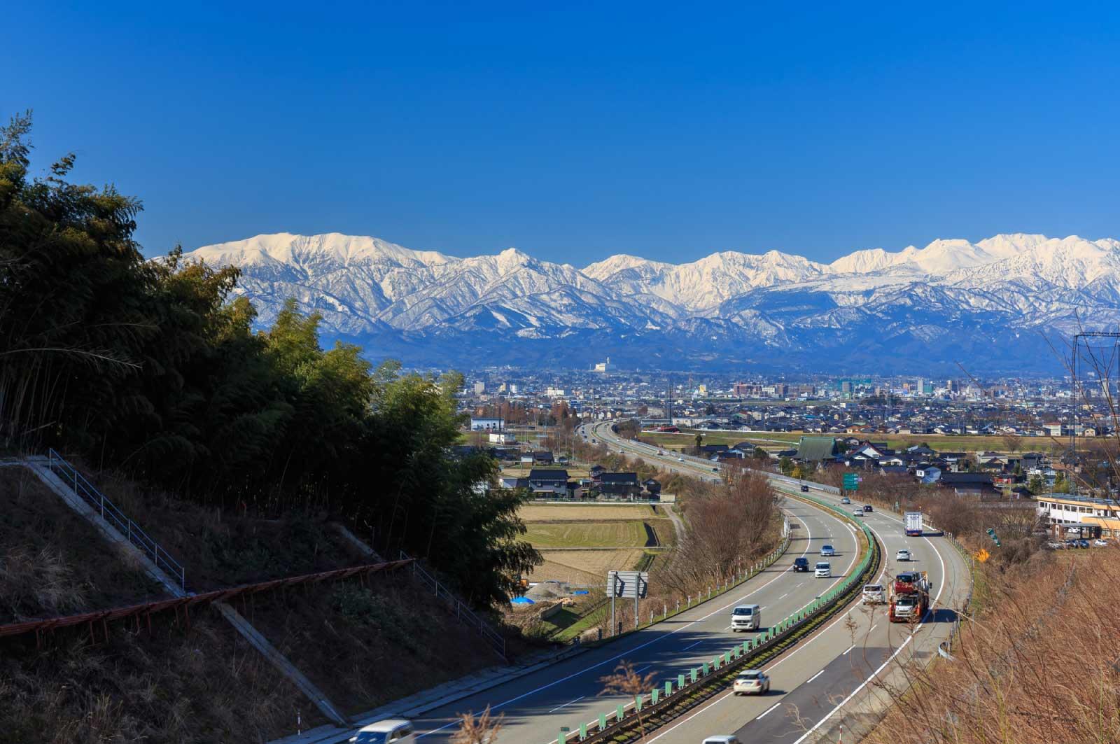 富山は車社会