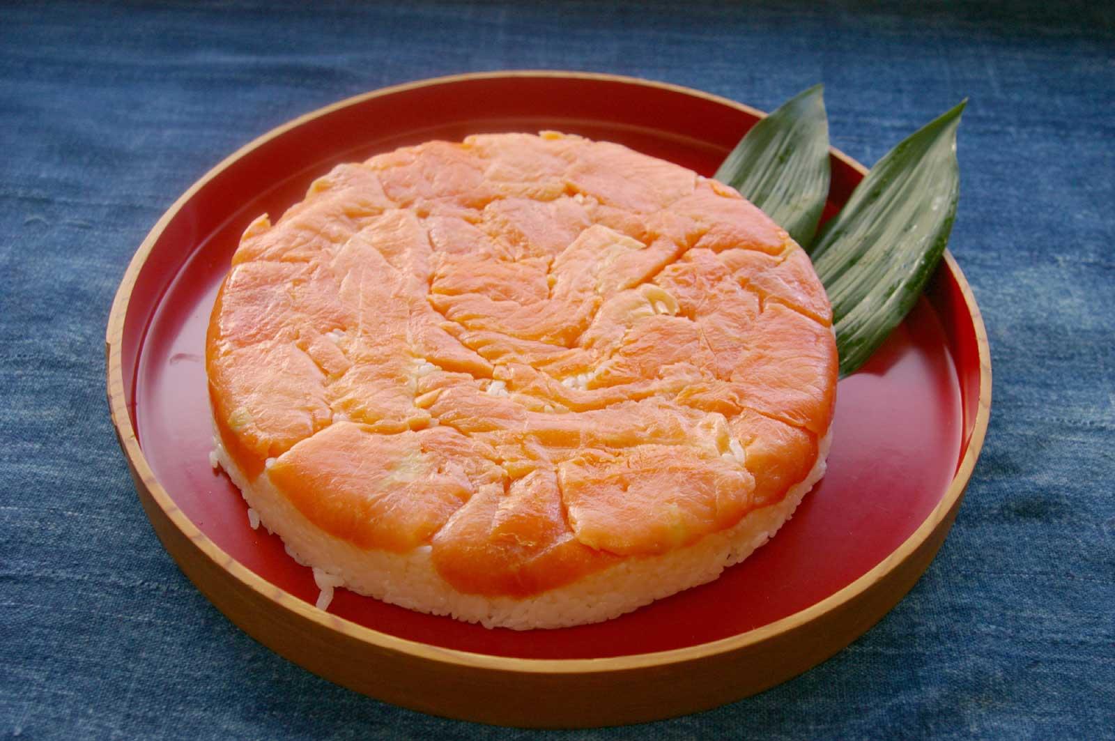 駅弁などとしても人気の高いこの「ます寿司」