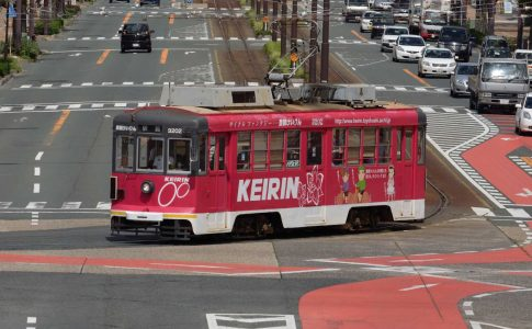 豊橋市でも、一時は路面電車の路線廃止などがあった