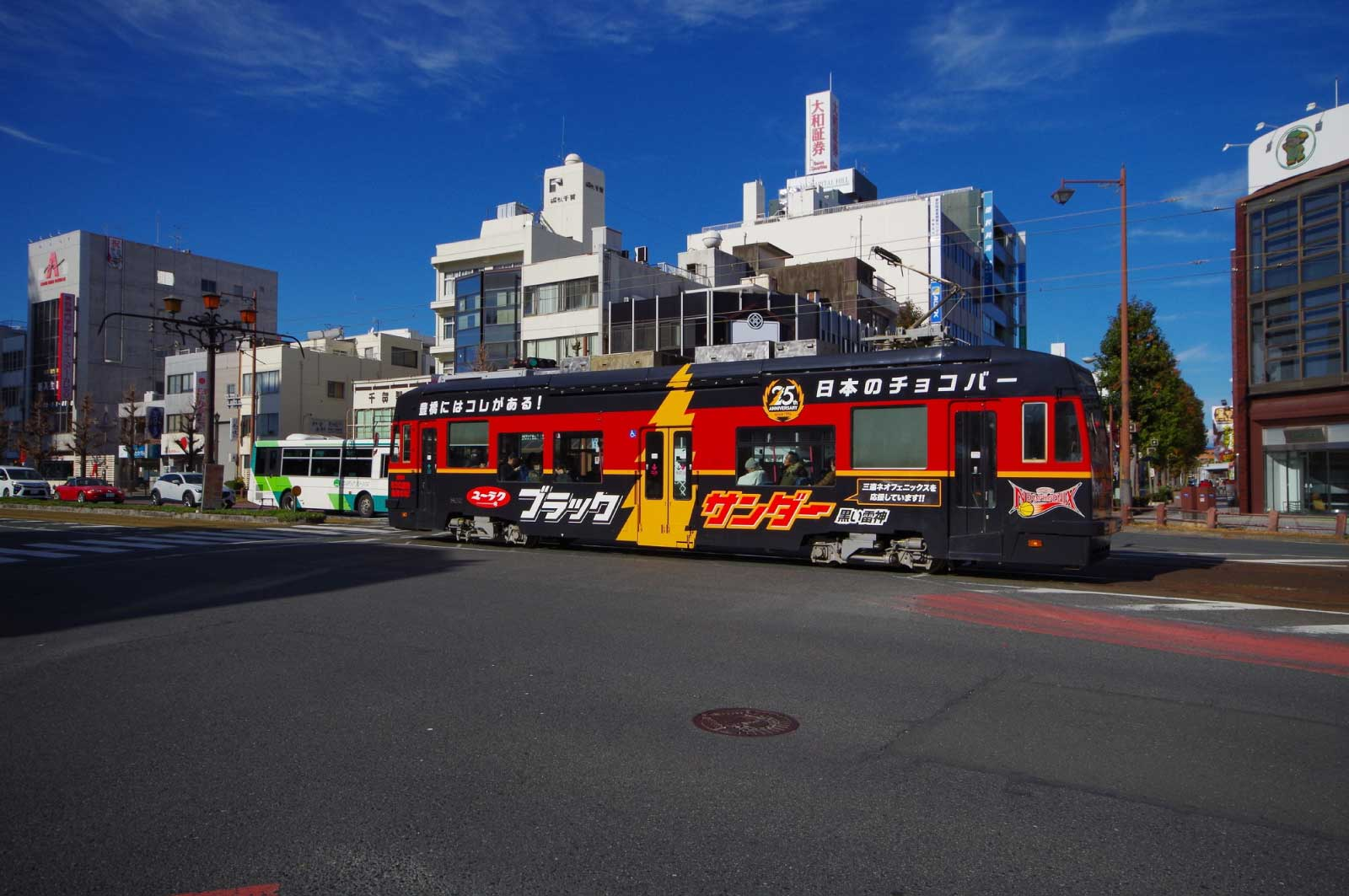 日本の電車はかつては路面電車が中心