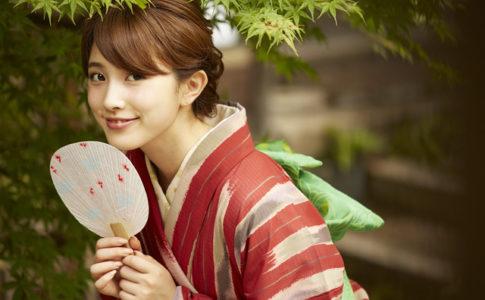日本文化が好きな愛知の女性
