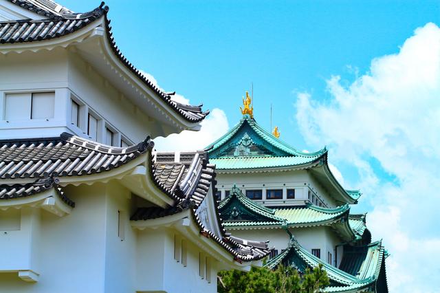 名古屋城天守閣と西南隅櫓