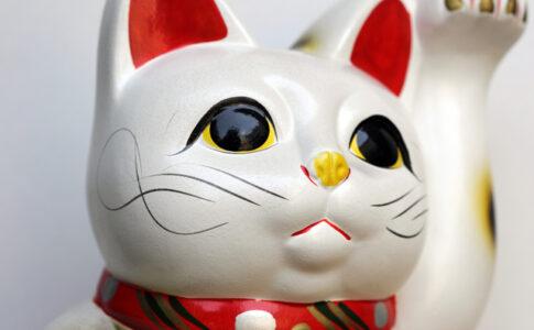 招き猫(貯金箱)