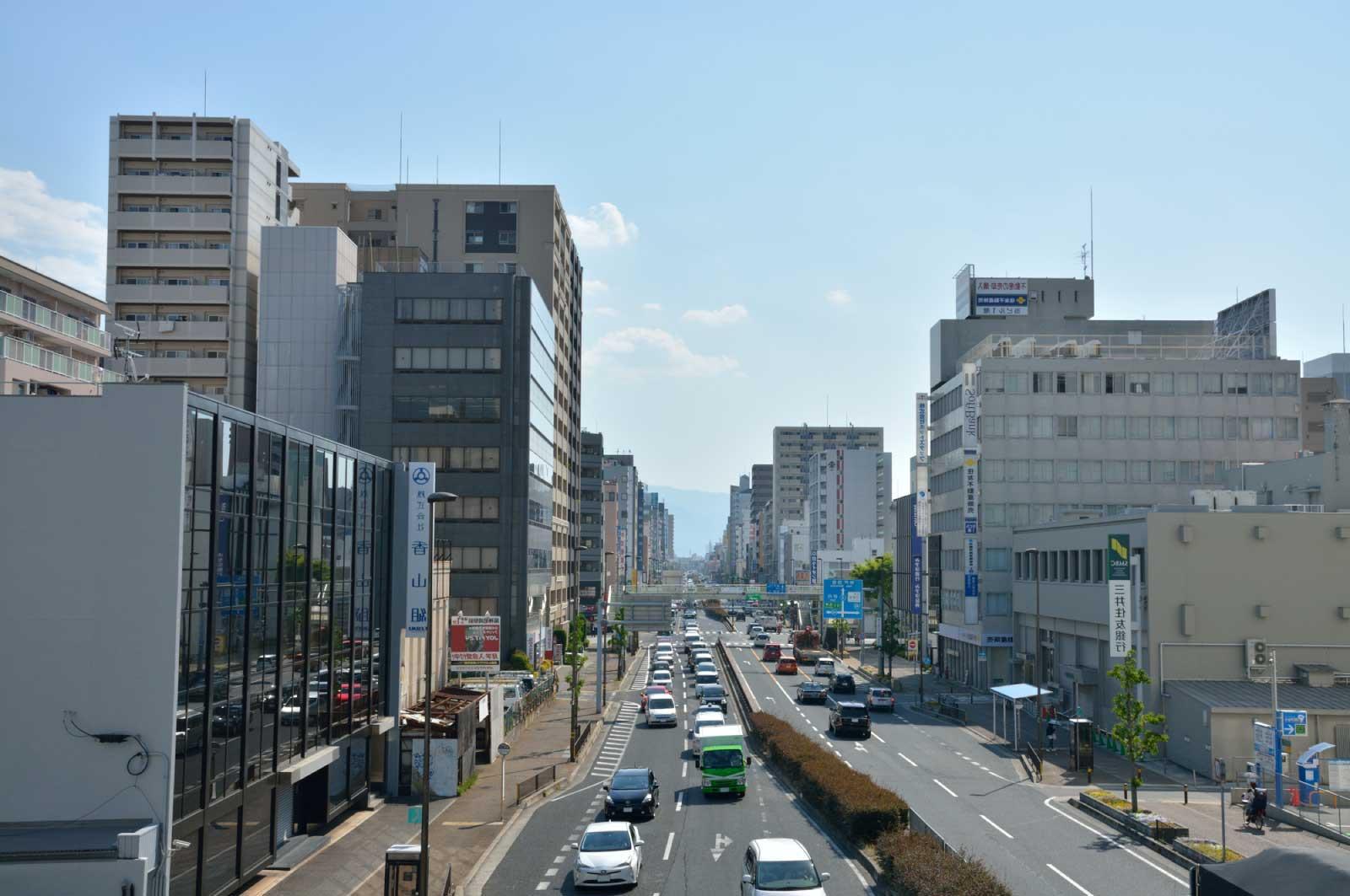 尼崎の中心地